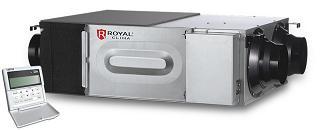 приточно-вытяжные установки Royal Clima серия SOFFIO